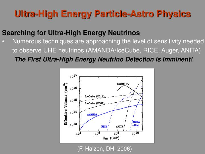 Ultra-High Energy Particle-Astro Physics