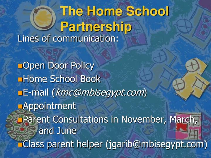 The Home School Partnership