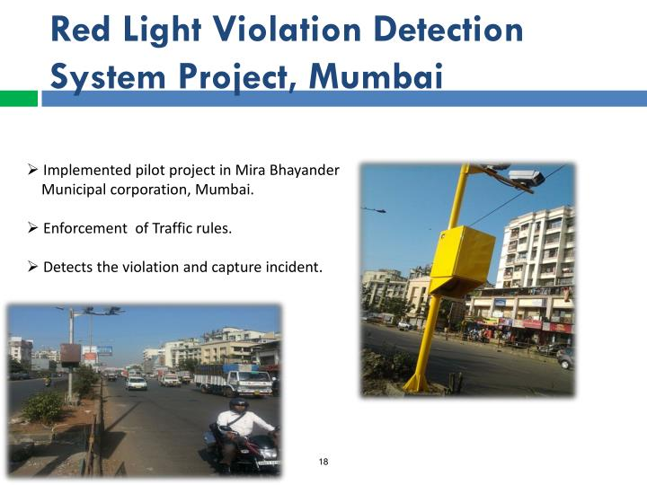 Red Light Violation Detection System Project, Mumbai