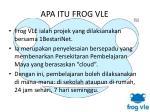 apa itu frog vle