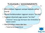 tugasan assignments1