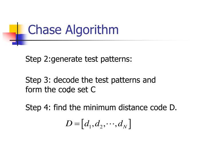 Chase Algorithm