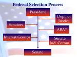 federal selection process1