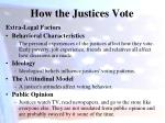 how the justices vote1