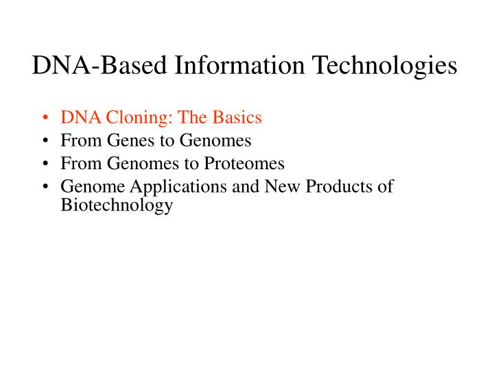 chapter 9 dna based information technologies Identification of human remains is thus a fundamental part of the healing process for families and even whole communities 1 the development of forensic science, including dna analysis.