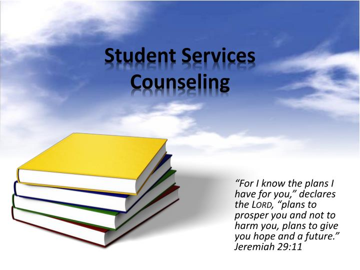 student services counseling n.