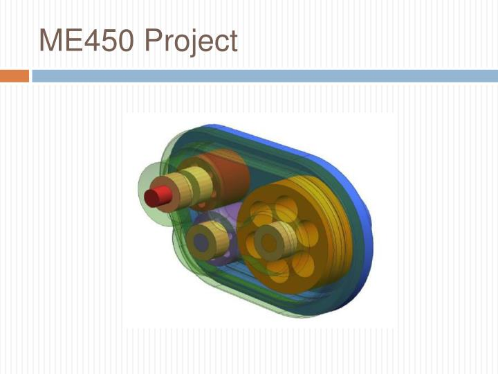me450 project n.
