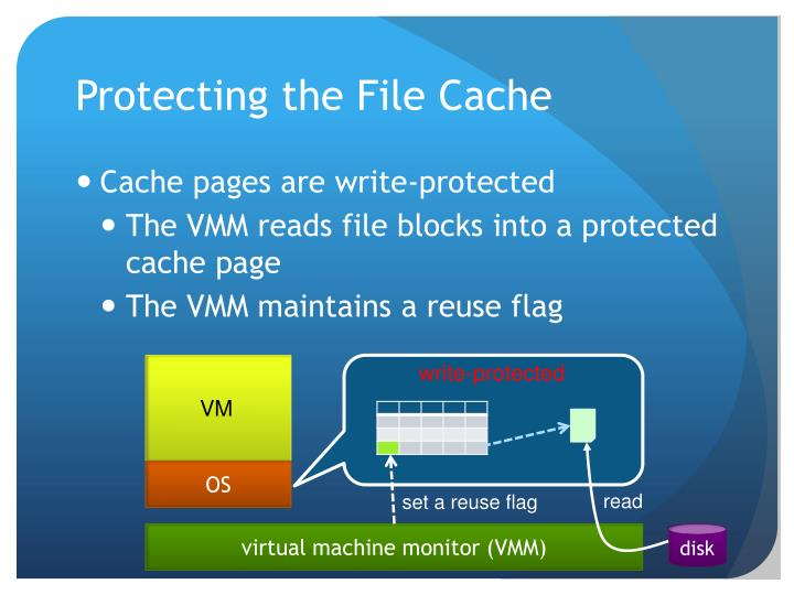 Protecting the File Cache