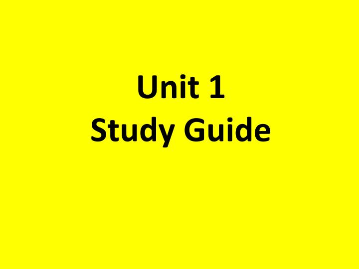 study unit 1 Unit 1 study guide answers biology unit 7 test study guide answers desenhospara, downloading pdf biology unit 7 test study guide answers , then you have come on to the loyal site we have biology.