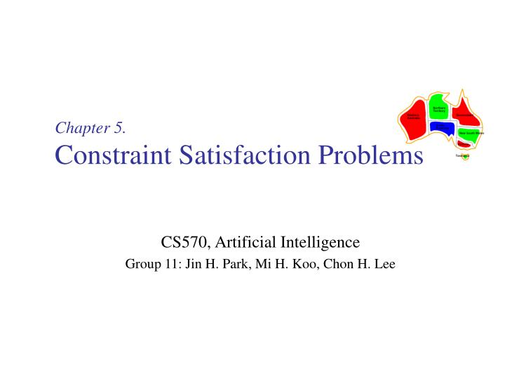 chapter 5 constraint satisfaction problems n.