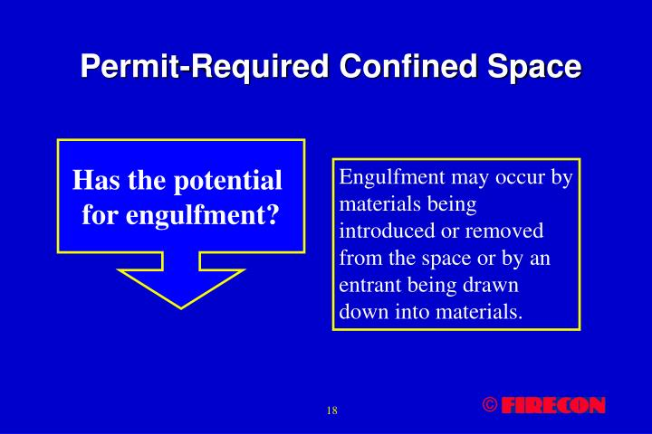 Permit-Required Confined Space