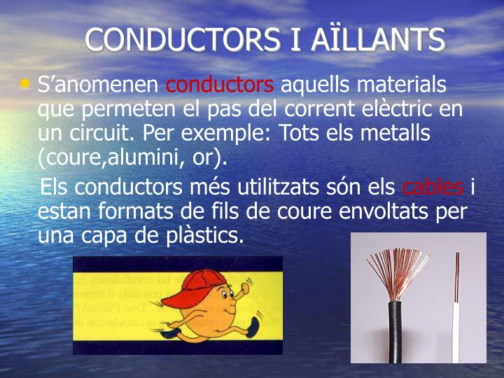 CONDUCTORS I AÏLLANTS
