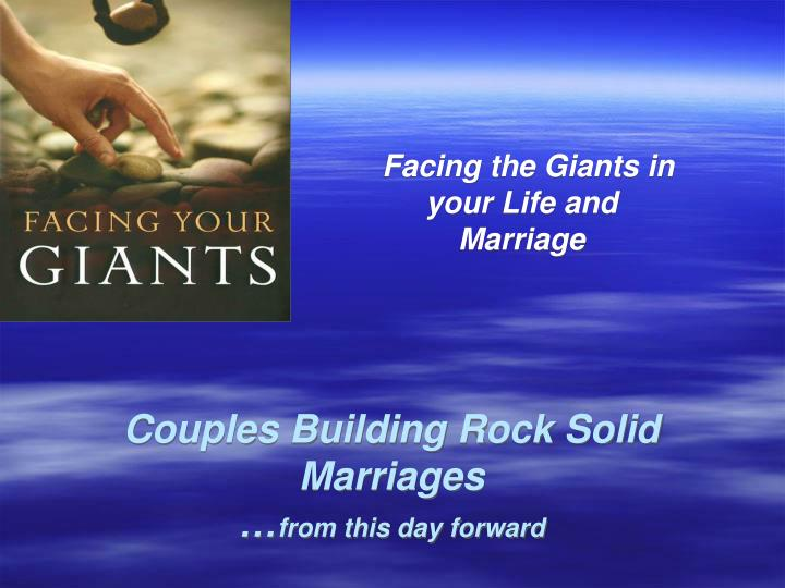 couples building rock solid marriages from this day forward n.