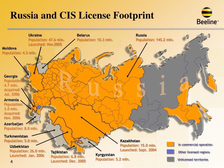 Unlicensed territories