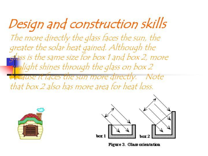 Design and construction skills