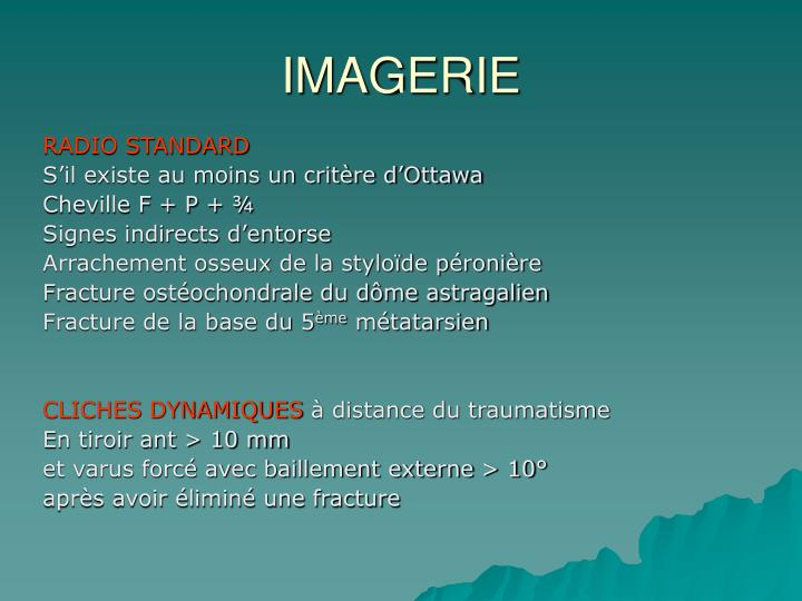 IMAGERIE