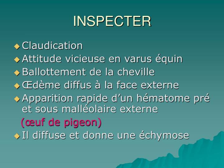 INSPECTER