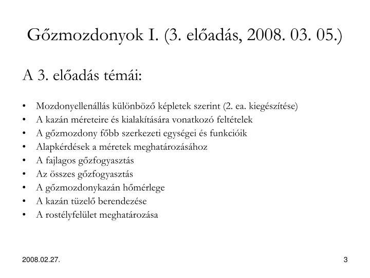 G zmozdonyok i 3 el ad s 2008 03 051