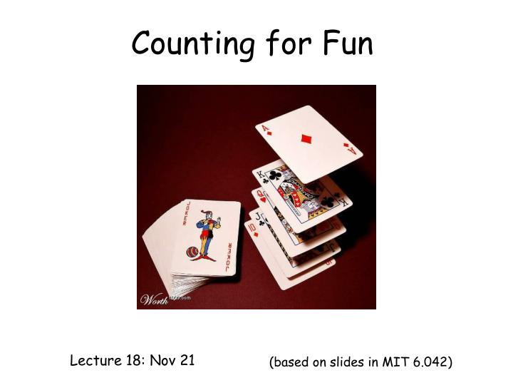 counting for fun n.