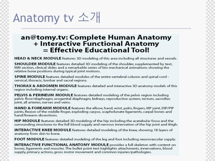 Ppt Anatomy Tv Powerpoint Presentation Id5694400