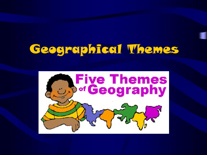 geographical themes n.