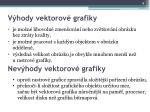 v hody vektorov grafiky