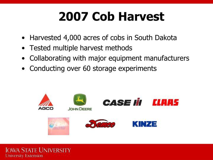 2007 Cob Harvest