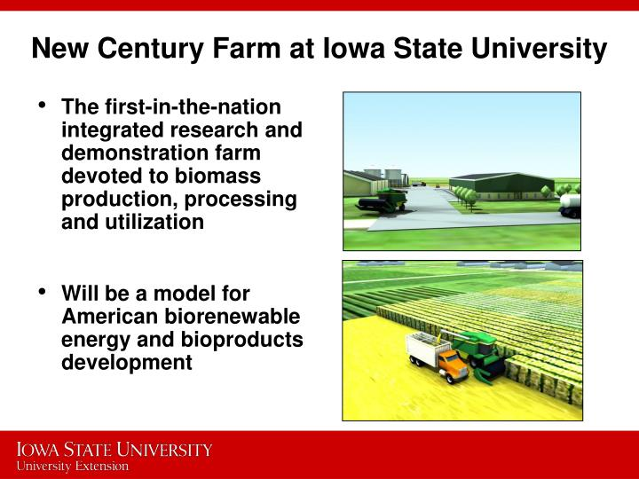 New Century Farm at Iowa State University