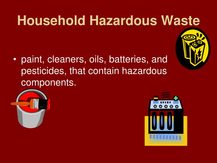 Ppt what a waste powerpoint presentation id 5695538 for Household hazardous waste facility design