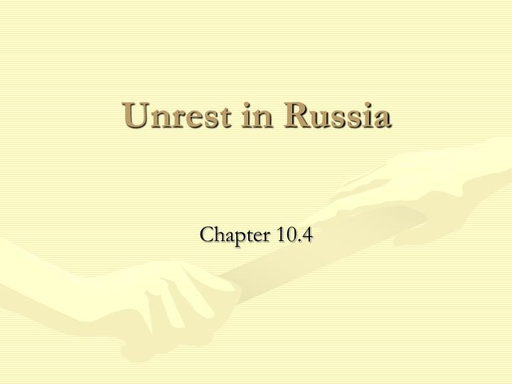 unrest in russia n.