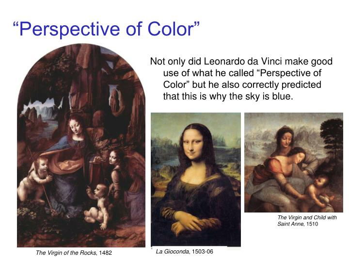 """Perspective of Color"""