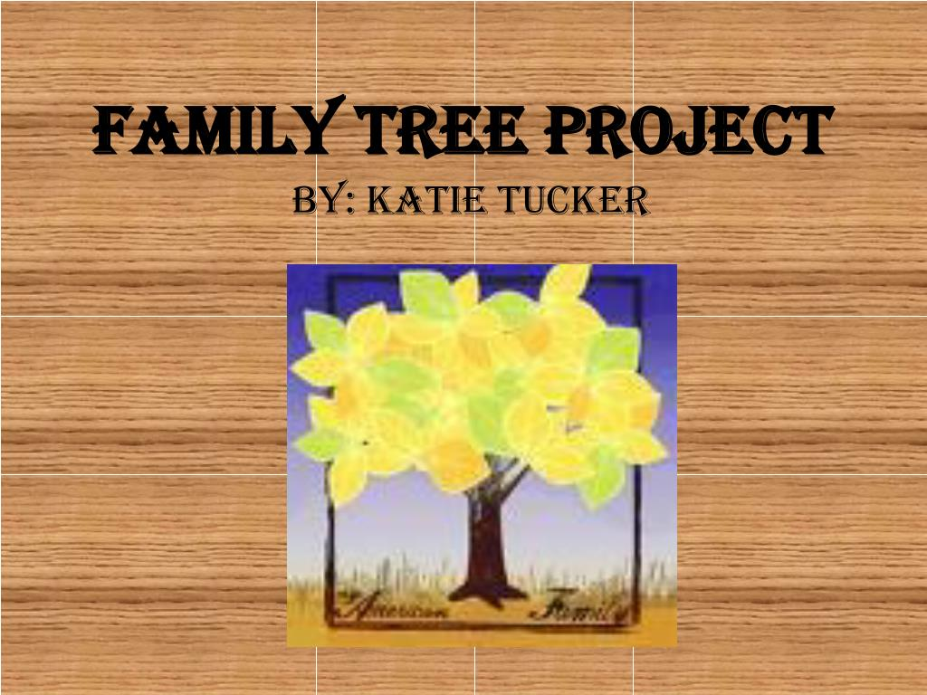Family Tree Project N