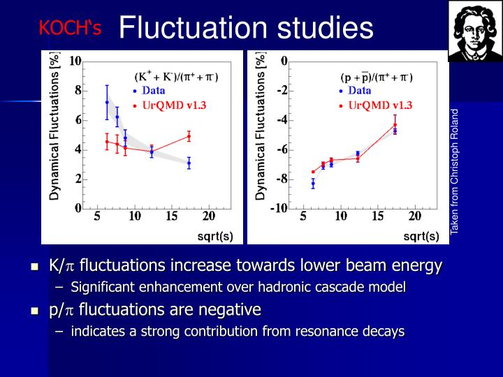 Fluctuation studies