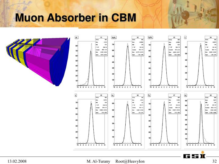 Muon Absorber in CBM