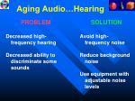 aging audio hearing