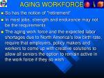 aging workforce