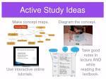 active study ideas