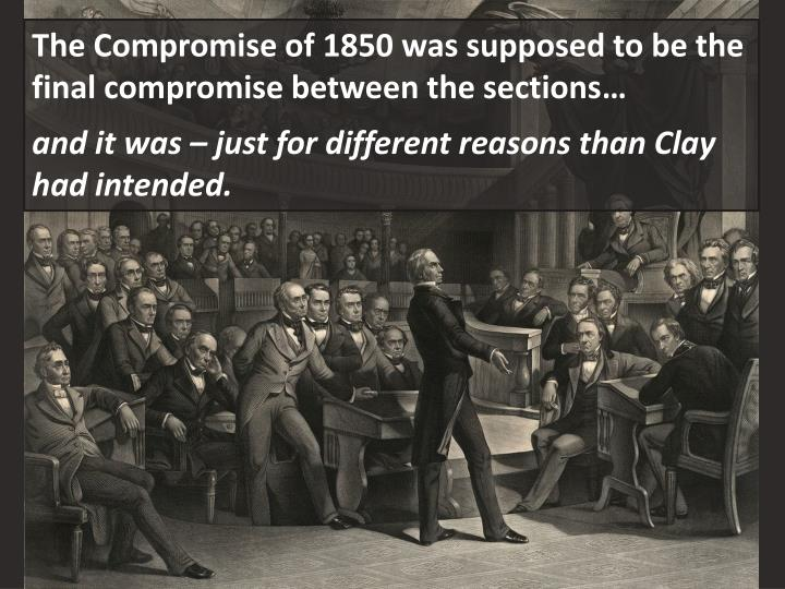 Talk:Compromise of 1850