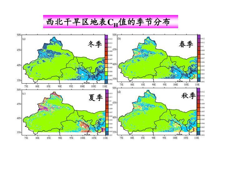 西北干旱区地表