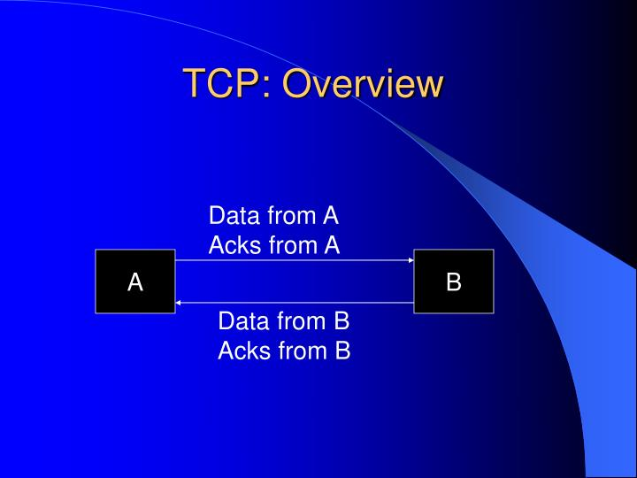 Tcp overview1