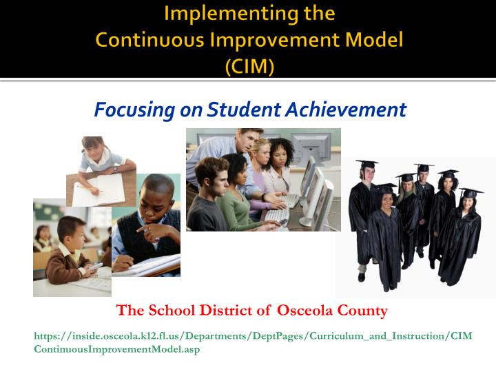 implementing the continuous improvement model cim n.