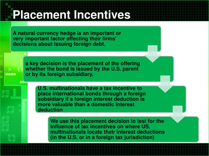 foreign subsidiary investment plan case multinational The total costs of operating in foreign markets multinational companies help of data on foreign direct investment which is not the case in.