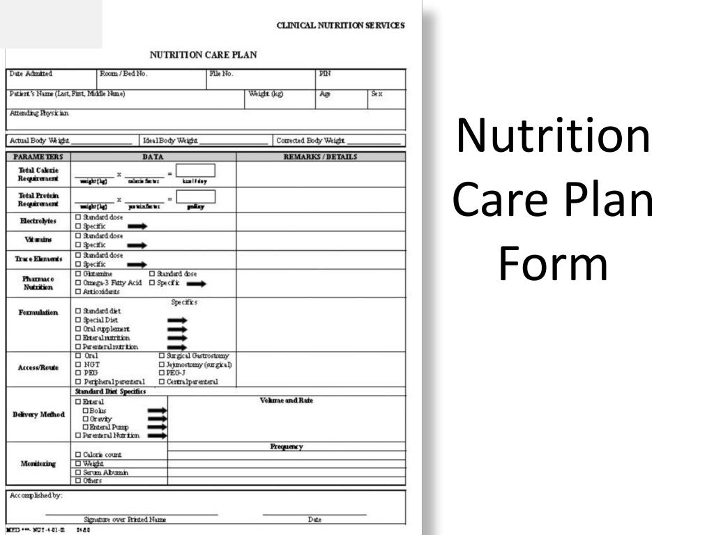 PPT - Nutrition care plan for surgical patients PowerPoint ...