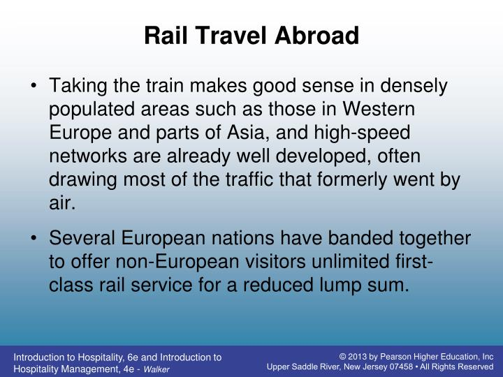 Rail Travel Abroad