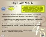 stage gate npd 2