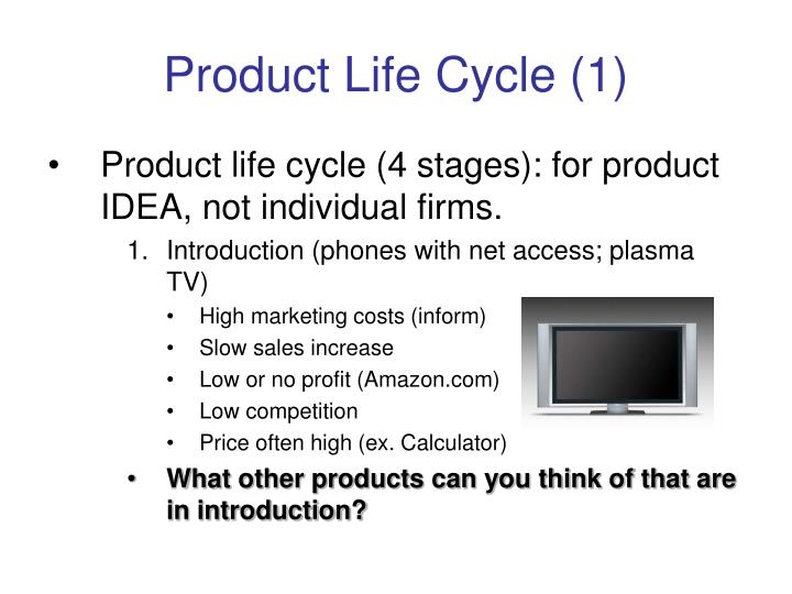 product life cycle of television