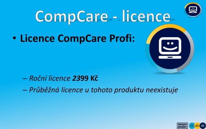 CompCare - licence