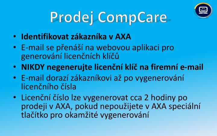 Prodej CompCare