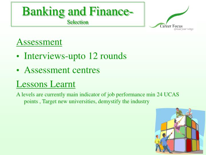 Banking and Finance-
