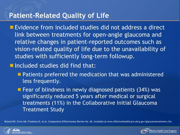 Patient-Related Quality of Life
